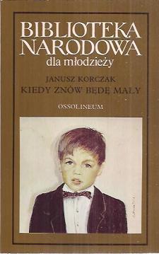 Janusz Korczak - okładka książki dla młodzieży