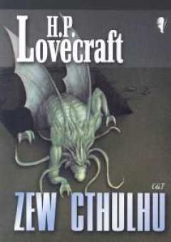 książka horror H. P. Lovecrafta - okładka