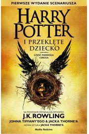 okładka książki harry potter i przeklęte dziecko